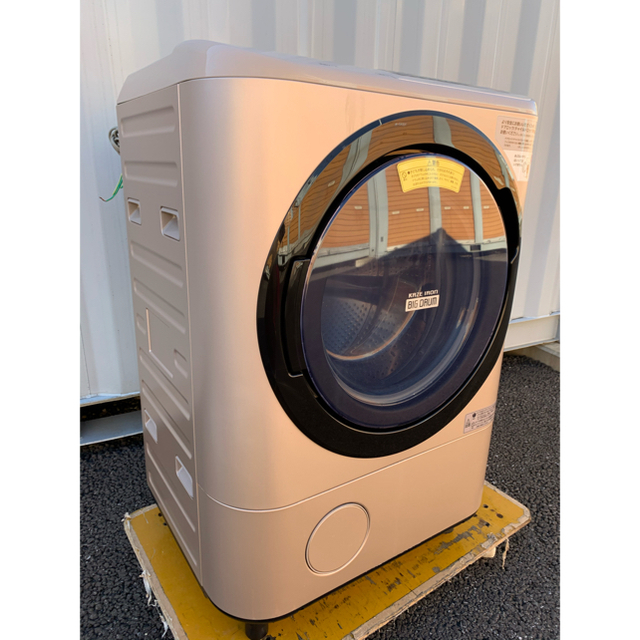 日立(ヒタチ)のいぶき様専用 ドラム式洗濯乾燥機 時短 大容量 温水洗浄 12kg /6kg スマホ/家電/カメラの生活家電(洗濯機)の商品写真