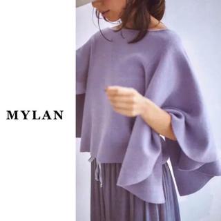 ドゥロワー(Drawer)の8.2万【新品未使用】MYLAN(マイラン)| Raffle pullover(ニット/セーター)
