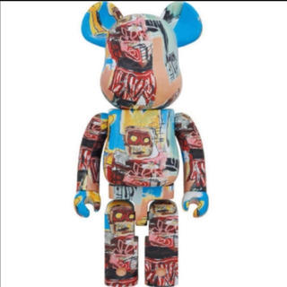 メディコムトイ(MEDICOM TOY)のBE@RBRICK JEAN-MICHEL BASQUIAT #6 1000 %(フィギュア)