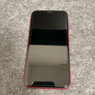 Apple - iphone11 64gb red simフリー 本体のみ