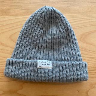 レプシィム(LEPSIM)のニット帽  LEPSIM ライトグレー (ニット帽/ビーニー)
