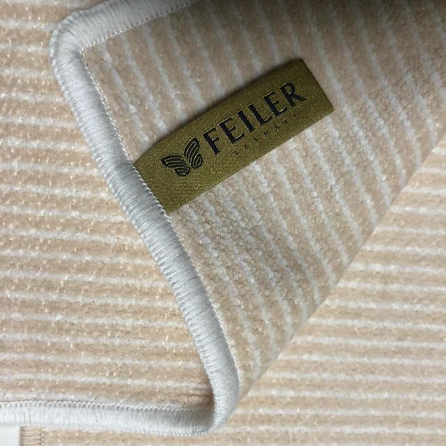 FEILER(フェイラー)のフェイラーハンカチ2枚セット 最終お値下げ レディースのファッション小物(ハンカチ)の商品写真