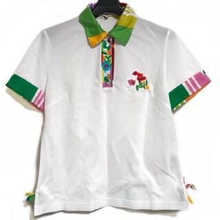 レオナール(LEONARD)のレオナール 半袖ポロシャツ サイズ40 M -(ポロシャツ)
