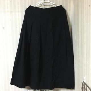 ロングスカート 黒(ロングスカート)