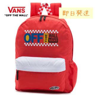 ヴァンズ(VANS)の【Vans】バンズ かわいい グッドスポーツ Realm バックパック レッド(リュック/バックパック)