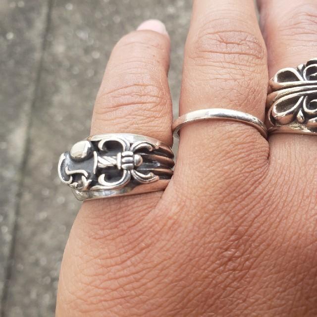 ハートダガーリング 17号 メンズのアクセサリー(リング(指輪))の商品写真