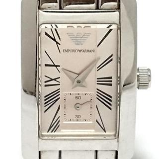 エンポリオアルマーニ(Emporio Armani)のアルマーニ 腕時計 - AR-0172 レディース(腕時計)
