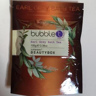 サボン(SABON)のBubbleT バスソルト アールグレイ 100g beautybox LF(入浴剤/バスソルト)