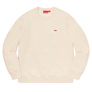 Supreme - Small Box Crewneck  natural