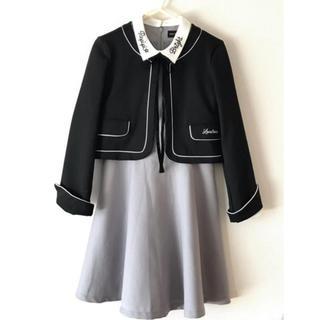 レピピアルマリオ(repipi armario)の【卒服】レピピワンピ&ラブトキジャケット 150(ドレス/フォーマル)