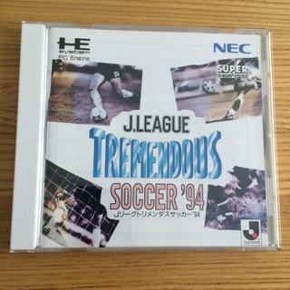 エヌイーシー(NEC)のJリーグトリメンダスサッカー'94 PCエンジン(家庭用ゲームソフト)