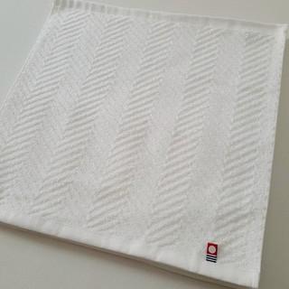 イマバリタオル(今治タオル)の今治ハンドタオル 2枚 ホワイト (約34×34cm)(タオル/バス用品)