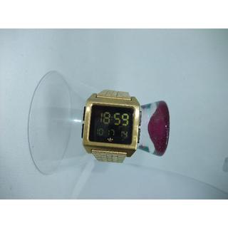 アディダス(adidas)のアディダス 腕時計 デジタルゴールド(腕時計(デジタル))