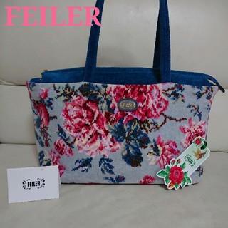 FEILER - ◇フェイラー◇花素敵なバッグ(両面柄)