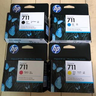 HP - hp プロッター 711インクカートリッジ 4色セット