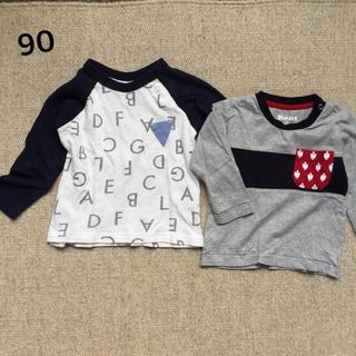 ナルミヤ インターナショナル(NARUMIYA INTERNATIONAL)のロンTセット90 アプレレクール&Kent(Tシャツ/カットソー)