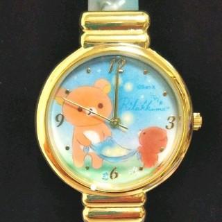 サンエックス(サンエックス)のチャイロイコグマの星降る夜✨バングルウオッチ(ブルー)(腕時計)