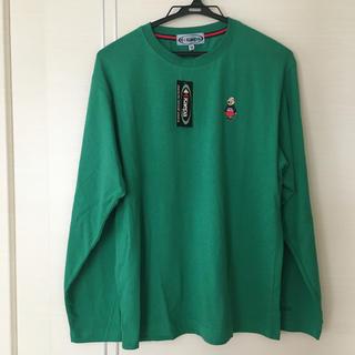 ケイパ(Kaepa)のメンズ長袖Tシャツ M グリーン(Tシャツ/カットソー(七分/長袖))