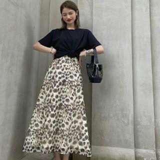 スライ(SLY)のSLYSHEER ANIMAL LONG スカート(ロングスカート)