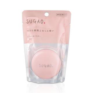 ロートセイヤク(ロート製薬)のSUGAO シフォン感パウダー クリア 4.5g(フェイスパウダー)