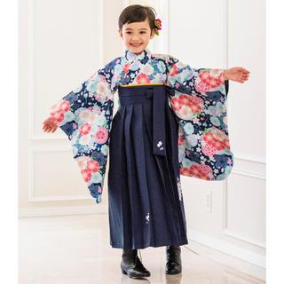 Catherine Cottage - キャサリンコテージ 簡単着付けの刺繍入り袴セット 靴、髪飾り、補正下着もセット