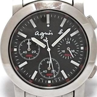 アニエスベー(agnes b.)のアニエスベー 腕時計 - V654-0A10 メンズ(その他)