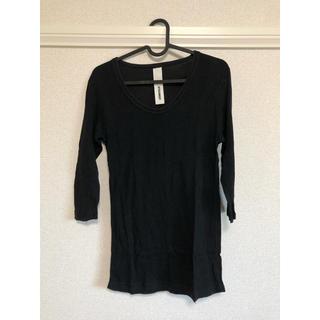 アタッチメント(ATTACHIMENT)のアタッチメント カットソー(ブラック)(Tシャツ/カットソー(七分/長袖))