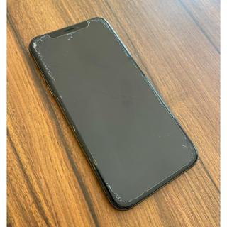 アイフォーン(iPhone)のiPhoneX 256GB スペースグレー(携帯電話本体)