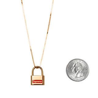 シュプリーム(Supreme)のSupreme Jacob&Co. 14K Gold Lock Pendant(ネックレス)