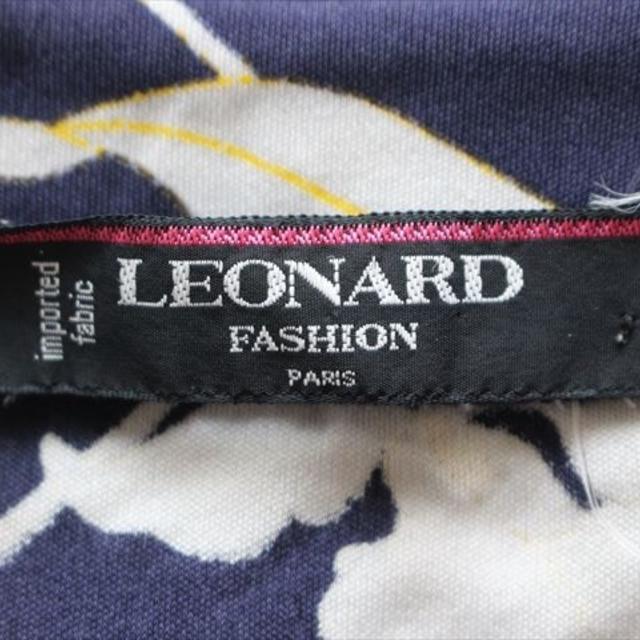 LEONARD(レオナール)のレオナール 半袖カットソー サイズ9R レディースのトップス(カットソー(半袖/袖なし))の商品写真
