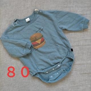 フタフタ(futafuta)の【送料込】バースデイtatetateテータテート ベビーロンパース Tシャツ80(Tシャツ)
