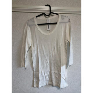 アタッチメント(ATTACHIMENT)のアタッチメント カットソー(ホワイト)(Tシャツ/カットソー(七分/長袖))