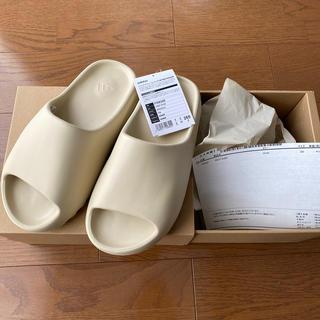 adidas - 26.5 yeezy slide bone
