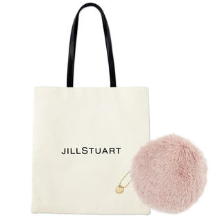 JILLSTUART - 【sweet 20年2月付録】JILL STUART ロゴトート&ファーポーチE