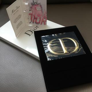 Dior - ディオール ベルベット ゴールドロゴ スタンドミラー&MissDiorコロン♡