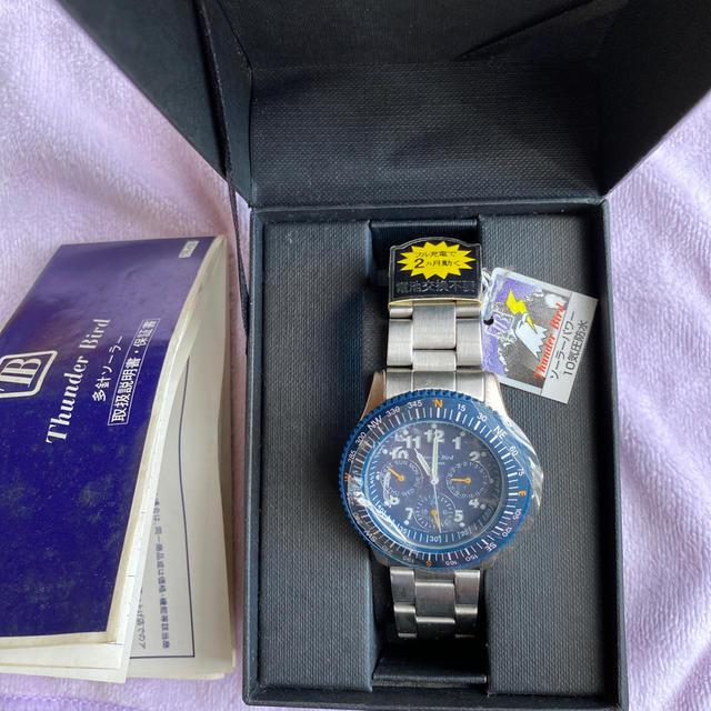 CITIZEN(シチズン)のシチズン Thunder Bird 多針ソーラー 腕時計 メンズの時計(腕時計(アナログ))の商品写真