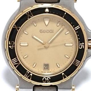 Gucci - GUCCI(グッチ) 腕時計 - 9700M レディース