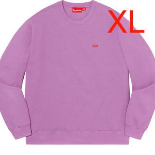 Supreme - Supreme small box crewneck  purple XL