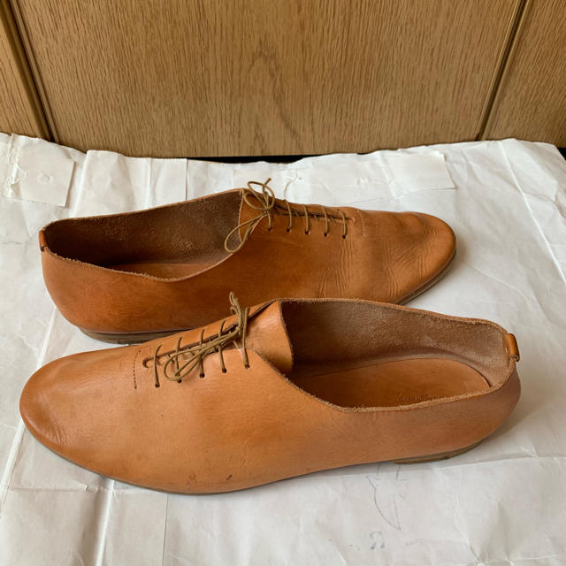 Hender Scheme(エンダースキーマ)のHonor gathering dance shoes 25.5cm メンズの靴/シューズ(その他)の商品写真