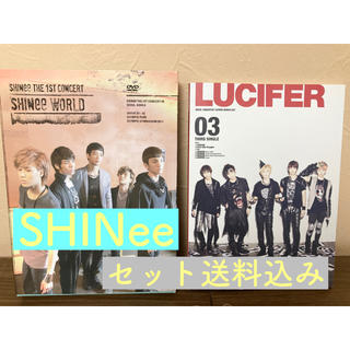 【美品】SHINee 1st concert & LUCHFER