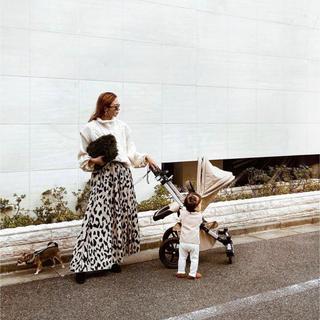 ルームサンマルロクコンテンポラリー(room306 CONTEMPORARY)のAnimal Pattern Maxi Skirt 美品(ロングスカート)