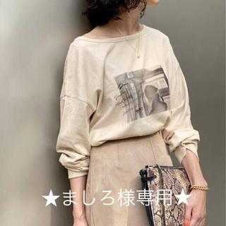 スピックアンドスパン(Spick and Span)のspick&span ロンT フォトT(Tシャツ(長袖/七分))