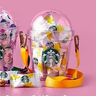 Starbucks Coffee - タイスタバ★ コールドドームカップ・お菓子入り