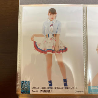 NMB48 - 【超美品】NMB48渋谷凪咲 上西恵・薮下柊・藤江れいな卒業コンサート公式生写真