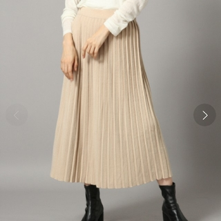 LOWRYS FARM - 【新品】ローリーズファーム ニットプリーツスカート