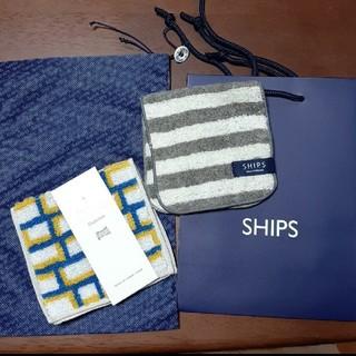 シップス(SHIPS)のOtta SHIPS タオルハンカチ(ハンカチ)