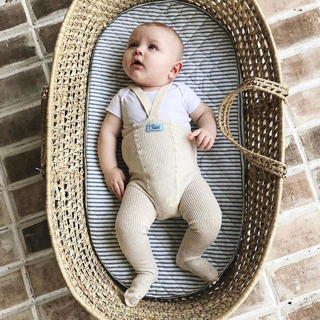 Caramel baby&child (キャラメルベビー&チャイルド)の(新品未使用)sillysilas シリーサイラス タイツ cream 0-6m キッズ/ベビー/マタニティのこども用ファッション小物(靴下/タイツ)の商品写真