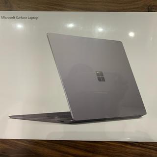 マイクロソフト(Microsoft)のSurface laptop 3 VGY-00018 プラチナ(ノートPC)