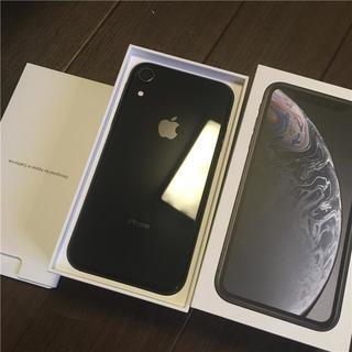 Apple - iPhone XR Black 128 GB SIMフリー