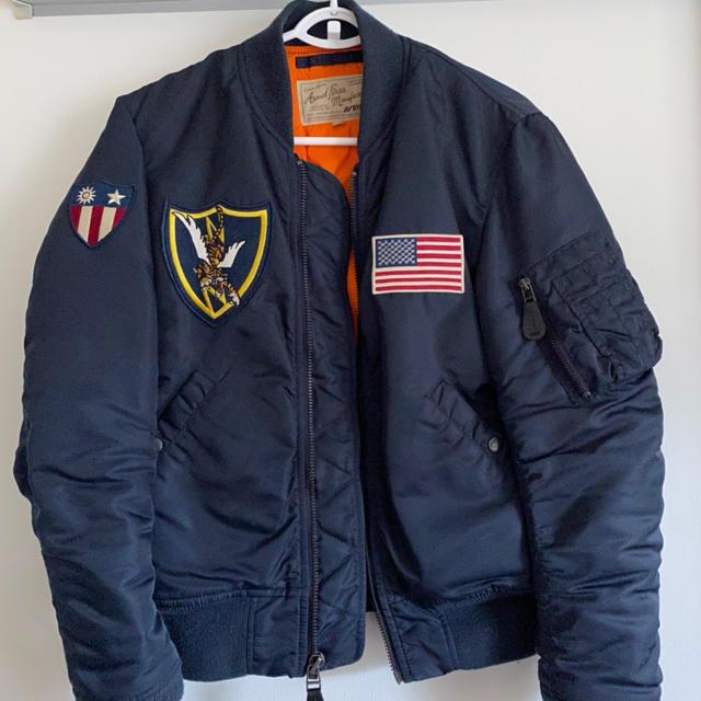 AVIREX(アヴィレックス)のアヴィレックス フライングタイガー ma-1 フライトジャケット M メンズのジャケット/アウター(フライトジャケット)の商品写真